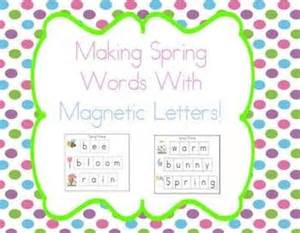 words containing letters 10 best magnetic letter activities images on 1729
