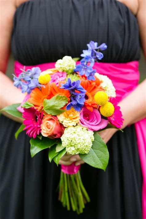 Bright Wedding Flower Picture by A Bright And Cheery Late Wedding Wedding