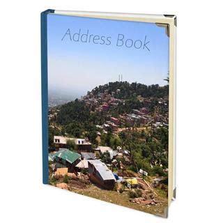 Handmade Address Book - personalized address book make your own custom address book