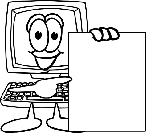 computer coloring pages on the computer coloring pages