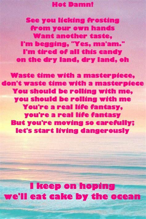 cake by the ocean explicit cake by the ocean lyric dnce the 25 best oceans lyrics