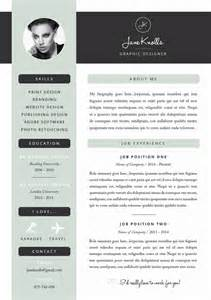great exle of a creative and modern resume template foe
