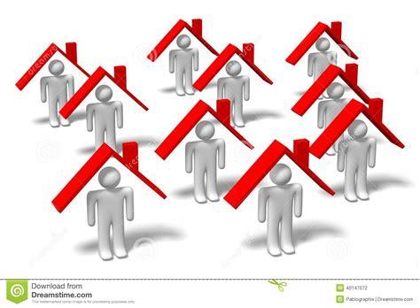 section 8 housing problems 3d question mark concept housing problems stock