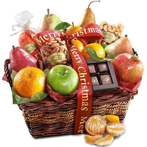 golden state fruit rustic treasures holiday christmas gift basket golden state fruit orchard delight fruit and gourmet basket gift http