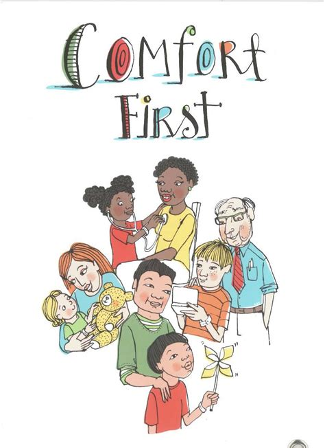 comfort first guidebooks handbooks and storybooks cci childhood