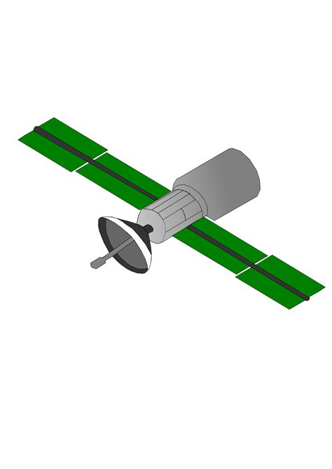 free vector clipart images satellite vector clipart image free stock photo