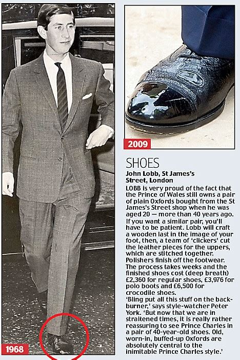 Prince Charles Wardrobe by The Shoe Aristocat How Prince Charles Has Always Been