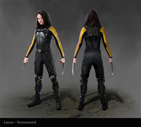 ArtStation - X-23 concepts (polished), Akiel Guzman X 23