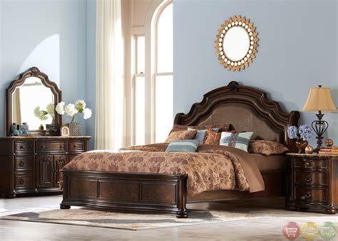 european style bedroom furniture le grande european style burl wood platform bedroom set
