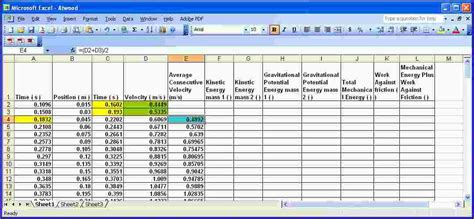 Excel Spreadsheet Equations by 3 Excel Spreadsheet Exles Ganttchart Template