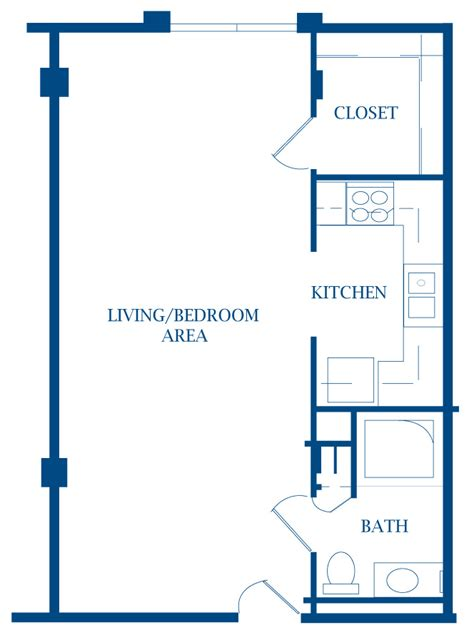 efficiency apartment floor plan how to decorate an efficiency apartment contemporary