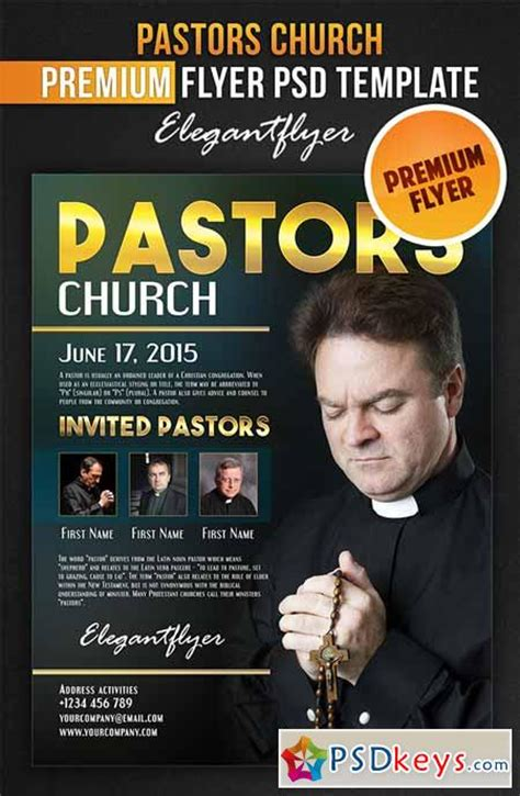 Pastors Church Flyer Psd Template Facebook Cover 187 Free Download Photoshop Vector Stock Free Church Flyer Templates Photoshop