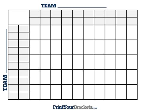 Office Football Pool Strategy Free Worksheets 187 100 Squares To Print Free Math