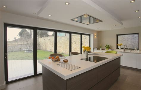 bi fold doors  kitchen extensions bi folding doors