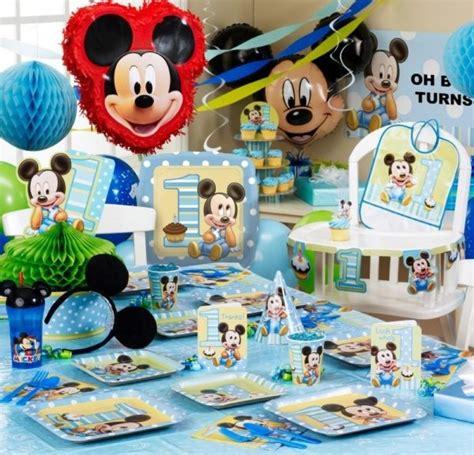 Decoration Mickey Anniversaire by D 233 Co Anniversaire Enfant Id 233 Es De D 233 Corations Th 233 Matiques