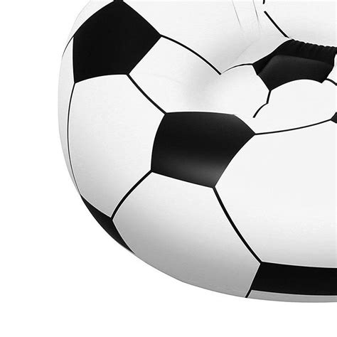 soccer ball couch bestway 45 quot beanless soccer ball chair sofa seat couch