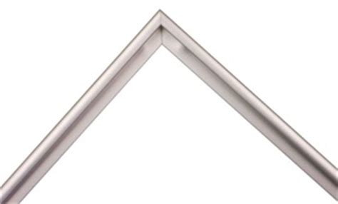 Sectional Frames Metal by Silver Metal 711 02 Flat Matte 5 16 Quot Wide Framing4yourself