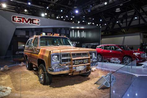 desert gmc gmc desert fox concept truck is a retro roader