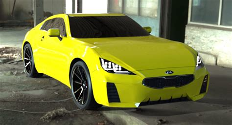 Kia Gt Production Kia Gt4 Coupe Rendered In Production Clothing As Toyota Gt