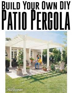 Build Your Own Pergola Kit by Build Your Own Backyard Diy Pergola