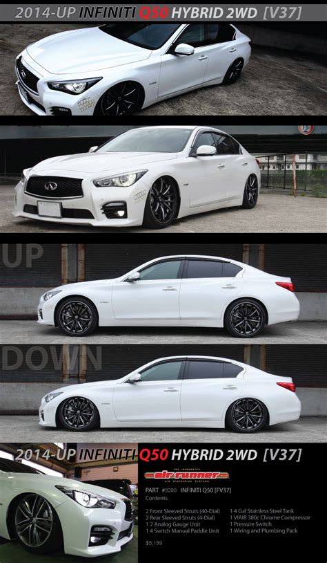 infinity application new application infiniti q50 2wd air runner system air