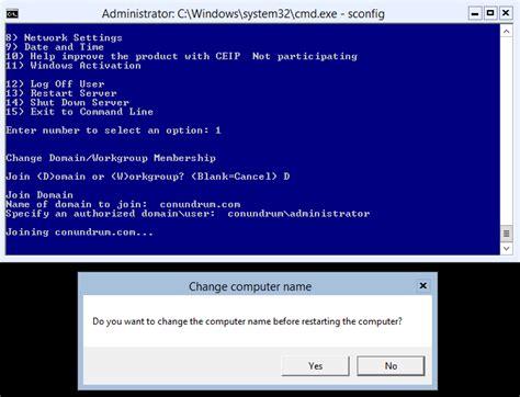 join windows server  core  domain mikes blog