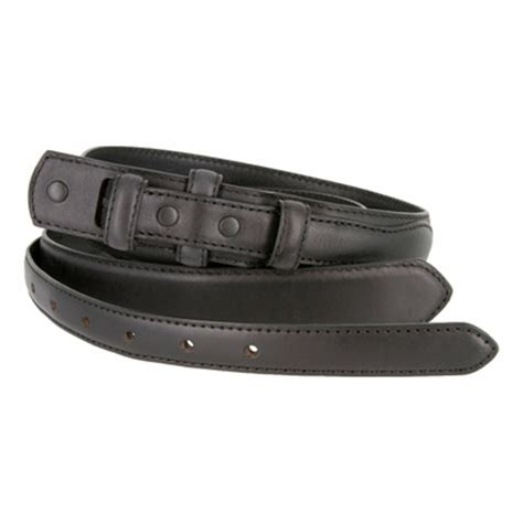 5547500 genuine leather ranger belt 1 1 8 quot tapering