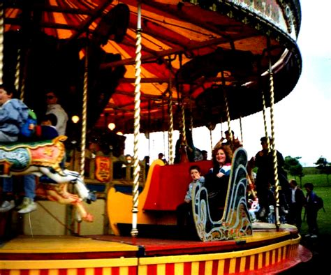 swings and roundabouts newcastle town moor hoppings newcastle upon tyne