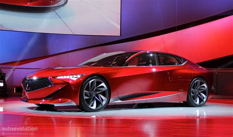 Acura Auto acura precision concept spices up the 2016 detroit auto