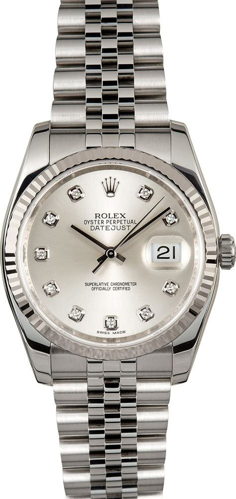 Rolex Oyster Silver rolex datejust silver 116234