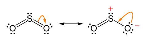sulfur dioxide diagram so2 lewis structure 点力图库