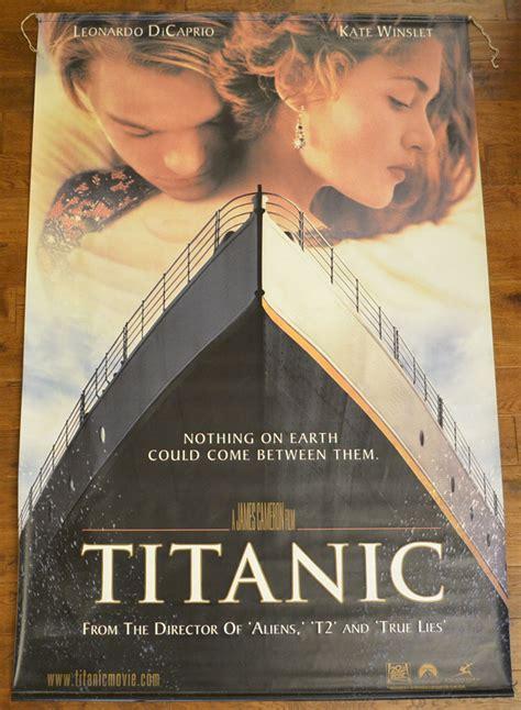 titanic film views titanic cinema banner original cinema movie poster