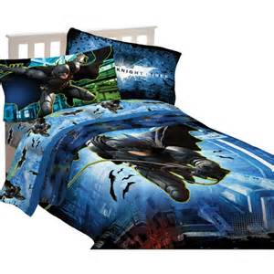 warner bros batman forced darkness microfiber twin full
