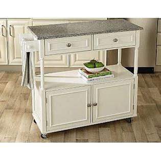 kmart furniture kitchen granite top kitchen cart create space with kmart