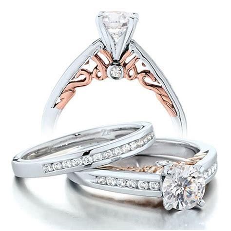 1 carat vintage wedding ring set for in