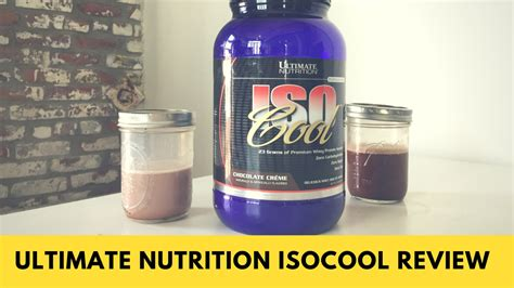 Whey Protein Ultimate Nutrition Review harga isocool ultimate nutrition review nutrition ftempo