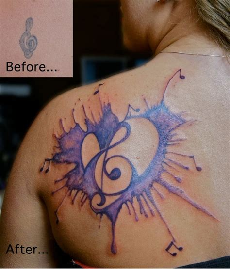 tattoos on the heart sparknotes musical note musically inspired tattoos