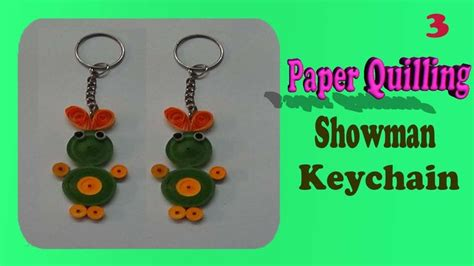 Paper Quilling Keychain Tutorial | 82 best paper quilling key chains images on pinterest