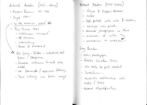 fashion design notes design context fashion as photograph lecture notes