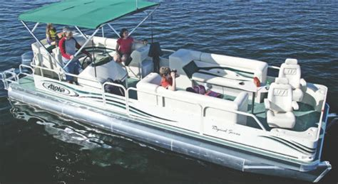 aloha pontoon research aloha pontoon boats ts 270 pontoon boat on iboats