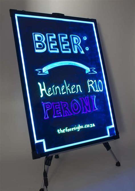 Led Writing Board led fluorescent writing board 60 x 80cm foresight