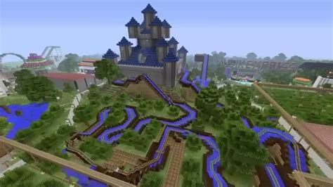 ps4 themes minecraft minecraft ps4 epic server theme park adventure youtube