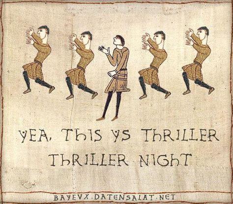 Medieval Tapestry Meme - medieval macros bayeux tapestry parodies thrillers