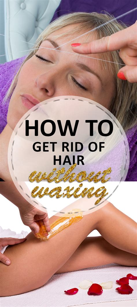 How To Get Rid Of Hair On by How To Get Rid Of Hair Without Waxing Brick Glitter