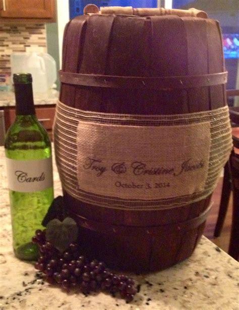 wine themed card box wedding wine box cards