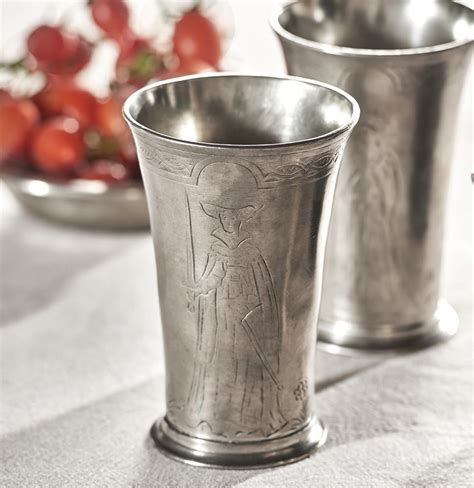 pewter barware pewter cup italian pewter drinkware