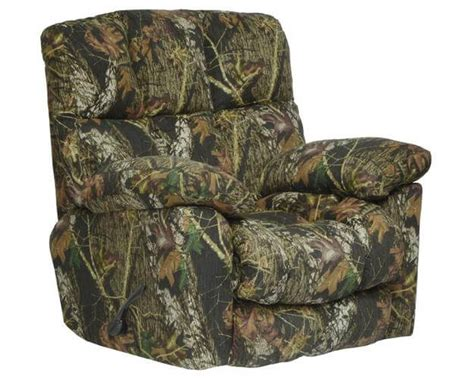 camo recliners chimney rock camo recliner delano s furniture and