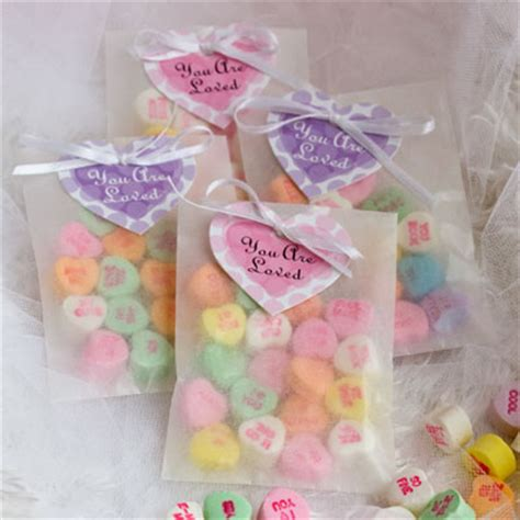 Candy Giveaways - valentine s day gift favors evermine blog