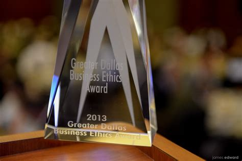 gdbeaorg greater dallas business ethics award lone star analysis honored at business ethics event