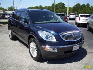 Blue Buick Enclave 2011 Buick Enclave Cxl In Ming Blue Metallic Photo 11